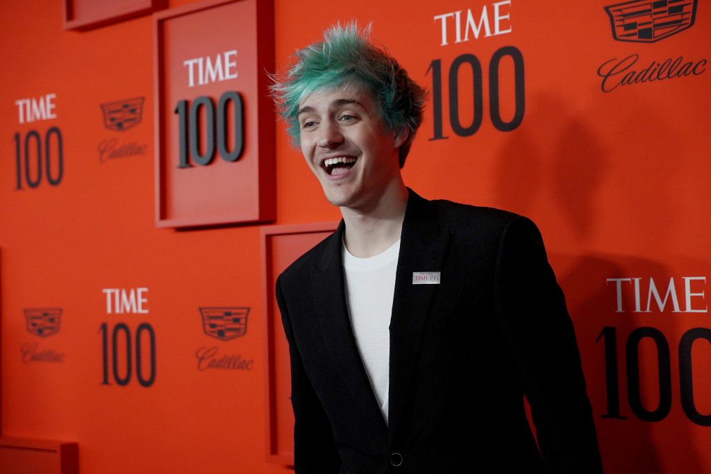 "Tyler ""Ninja"" Blevins attends the Time 100 Gala"
