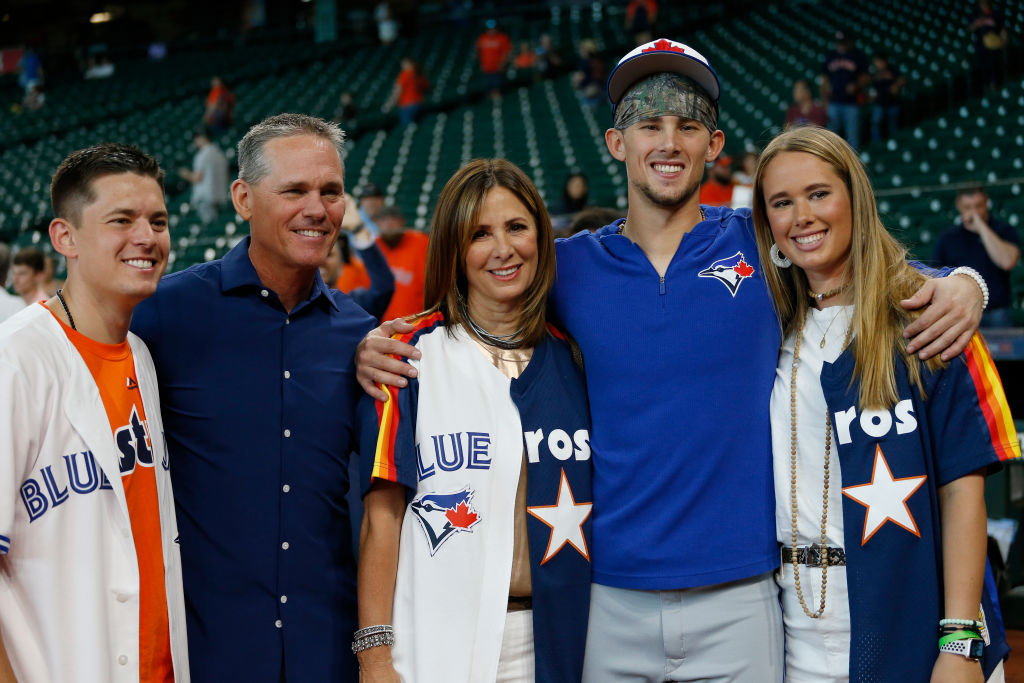 The Biggio family had trouble picking sides when Cavan's Blue Jays visited Craig's Astros