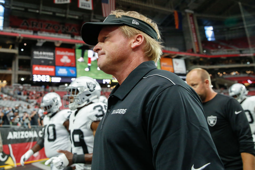 Jon Gruden's reputation as a head coach is on the line