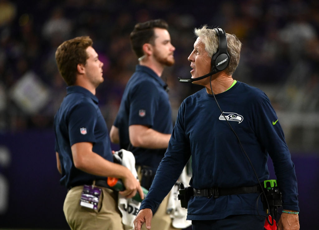 Pete Carroll is looking for a second Super Bowl ring