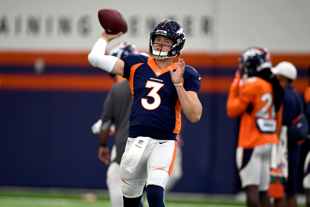 Drew Lock hopes to impress after falling out of the first round to the Broncos at the NFL Draft