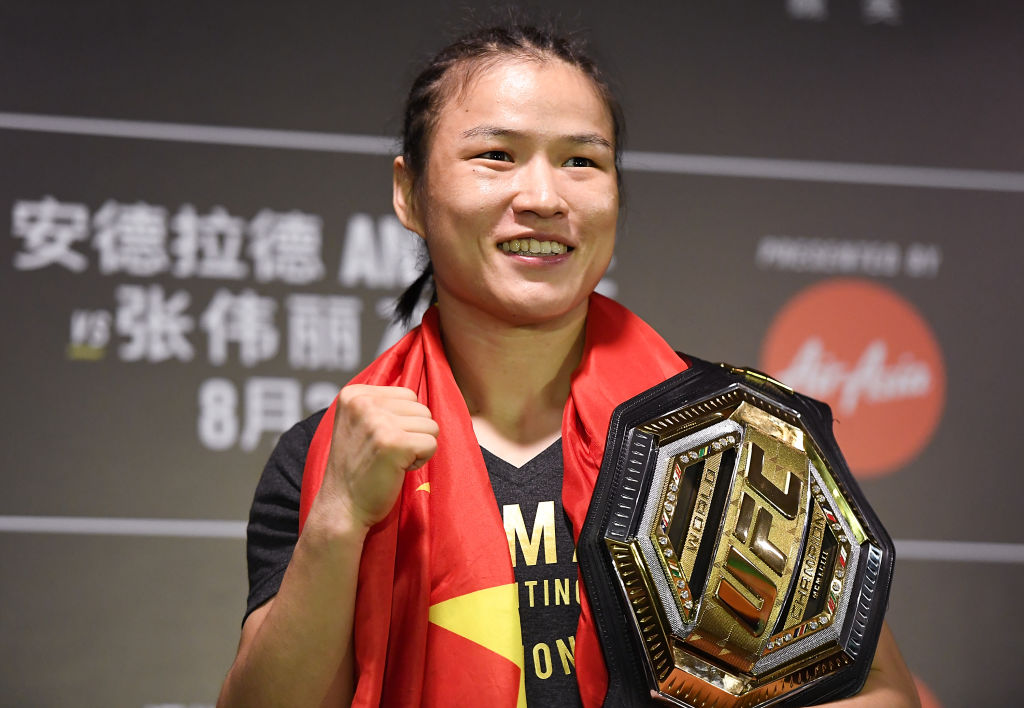 4 Facts About New UFC Women's Strawweight Champion Zhang Weili