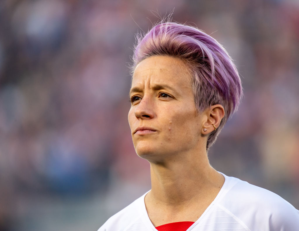 Megan Rapinoe #15 of the United States