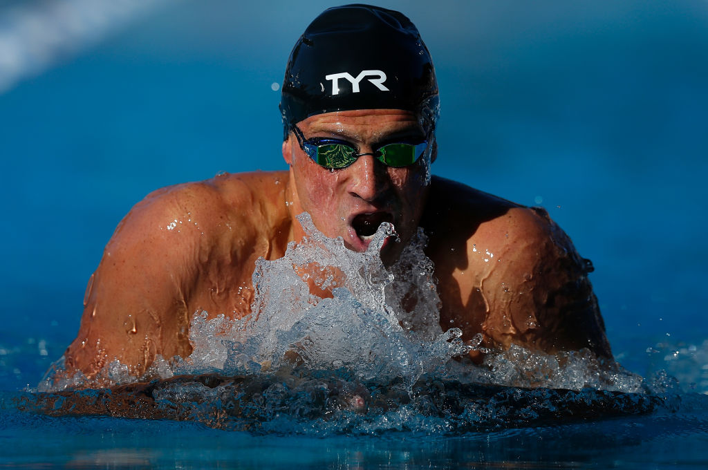 Ryan Lochte swims to victory in the Men's 200m Individual Medley