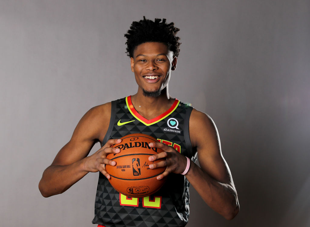 Cam Reddish of the Atlanta Hawks