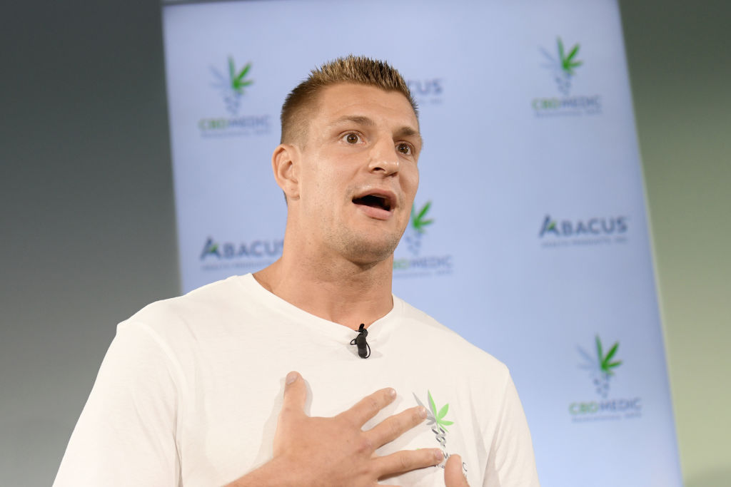Former New England Patriots tight end Rob Gronkowski