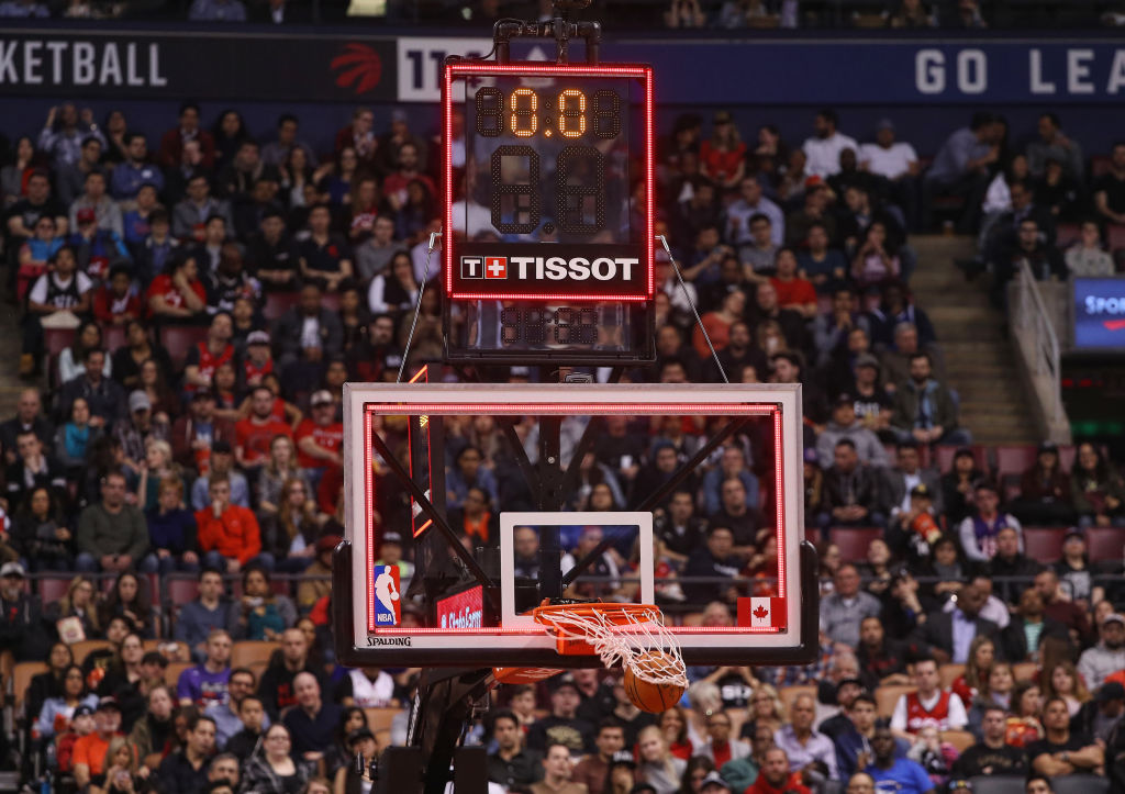 The NBA has used a shot clock since 1954
