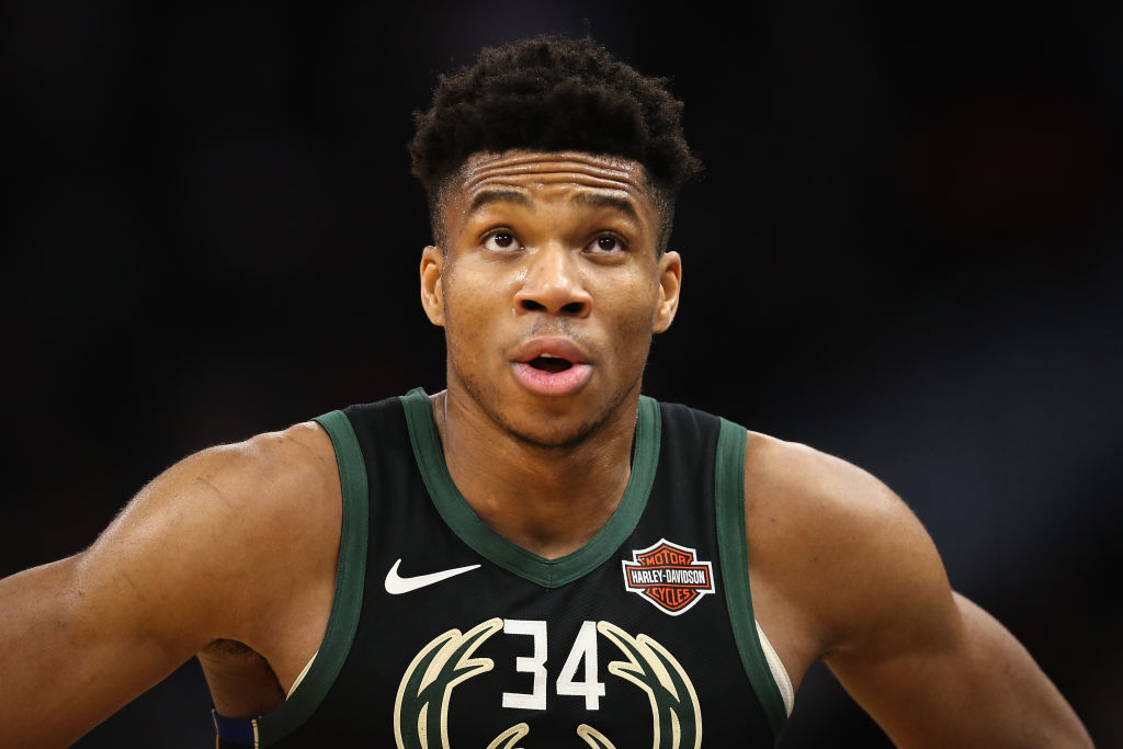 Giannis Antetokounmpo has a new Nike shoe coming out that has ties to a classic 1980s movie.