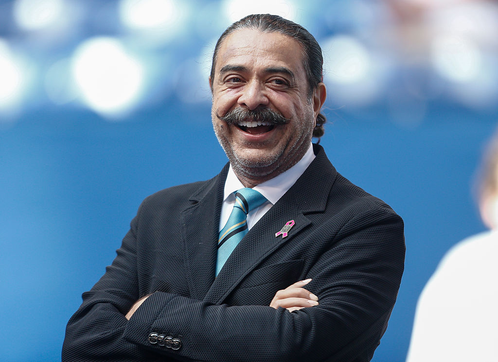 Owner Shahid Khan of the Jacksonville Jaguars