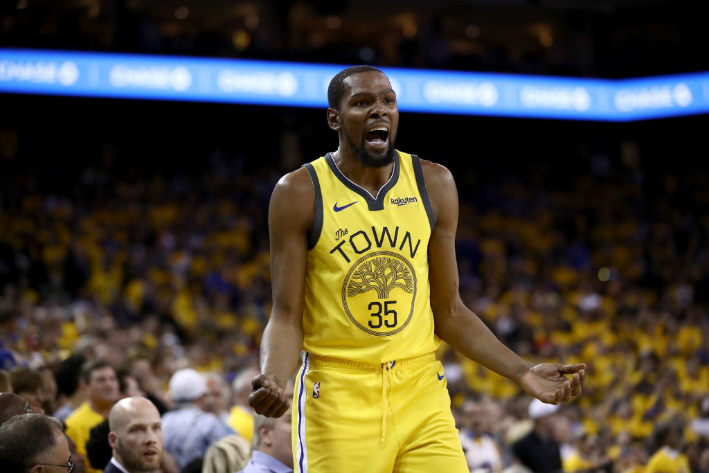 Golden State Warriors - Kevin Durant height