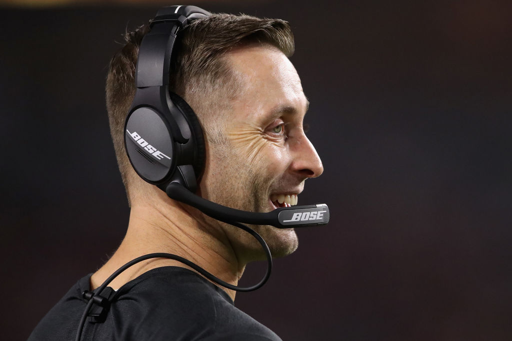 Arizona Cardinals coach Kliff Kingsbury built halftime breaks into practice, which is either brilliant or insane, but it's definitely different.
