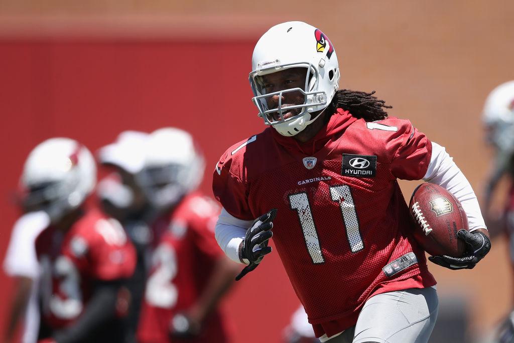 Cardinals veteran Larry Fitzgerald says he's never seen a rookie quarterback like Kyler Murray.