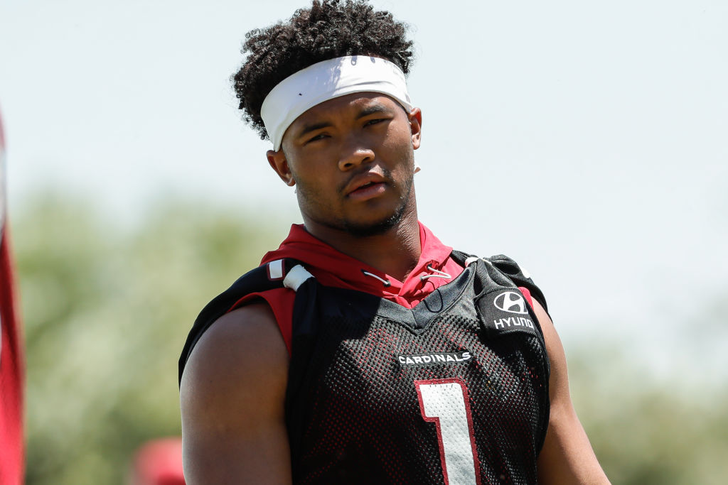 Arizona Cardinals quarterback Kyler Murray says he doesn't feel any pressure even though he was a No. 1 draft pick who turned down a baseball career for the NFL.