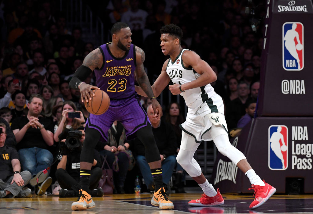 The Lakers could be angling to sign the Bucks Giannis Antetokounmpo when he hits free agency.