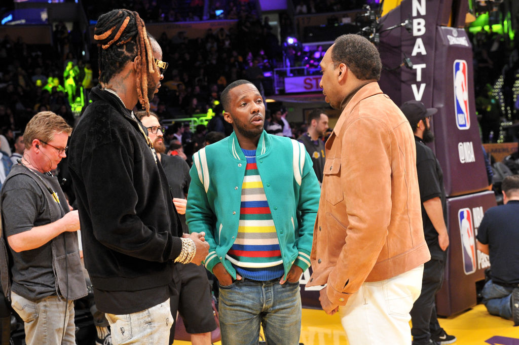 The NCAA seemed to target LeBron James' business partner Rich Paul (middle) with new agent rules it wanted to implement.