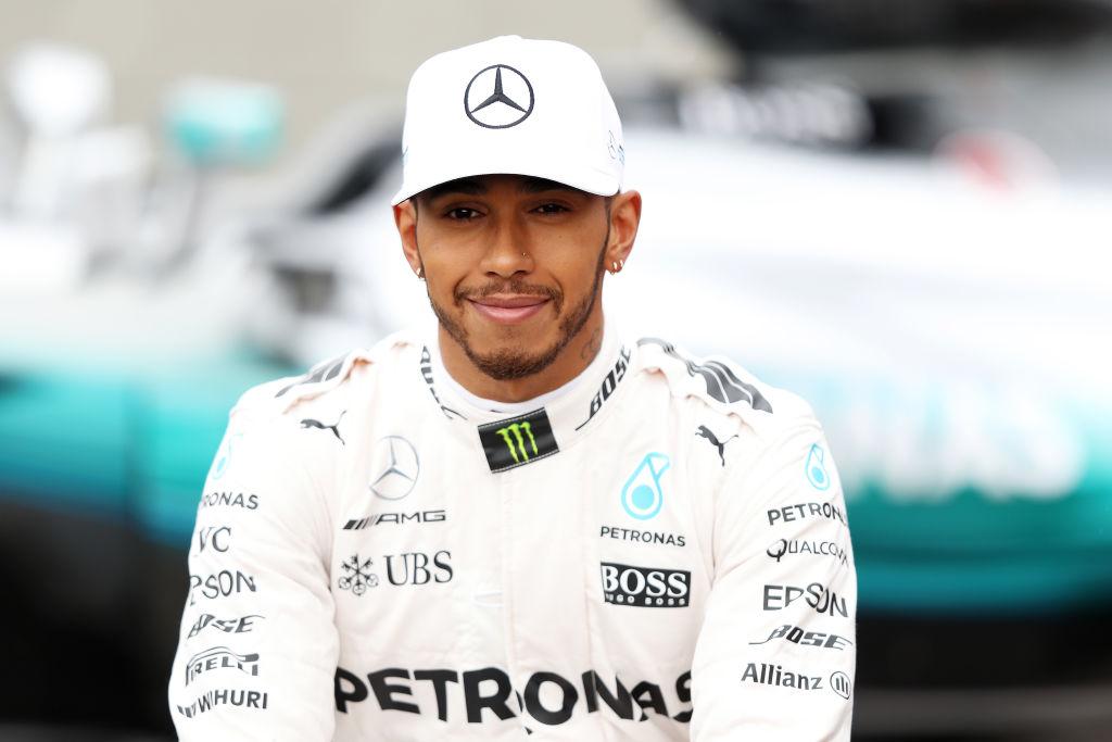 Formula One racer Lewis Hamilton