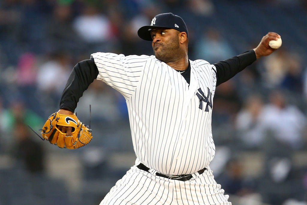 MLB player CC Sabathia