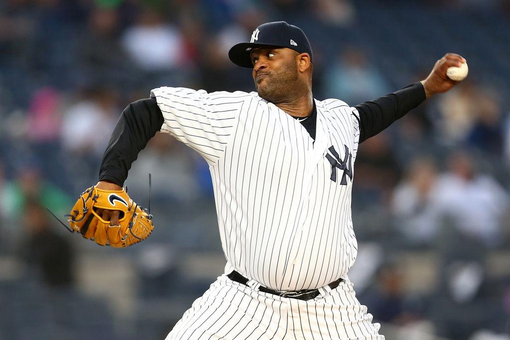 MLB player CC Sabathia