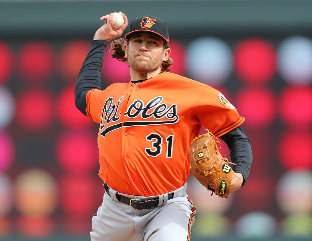 Orioles pitcher Jimmy Yacabonis is one of a few MLB players who turn to 70s rock for their walk-up music.