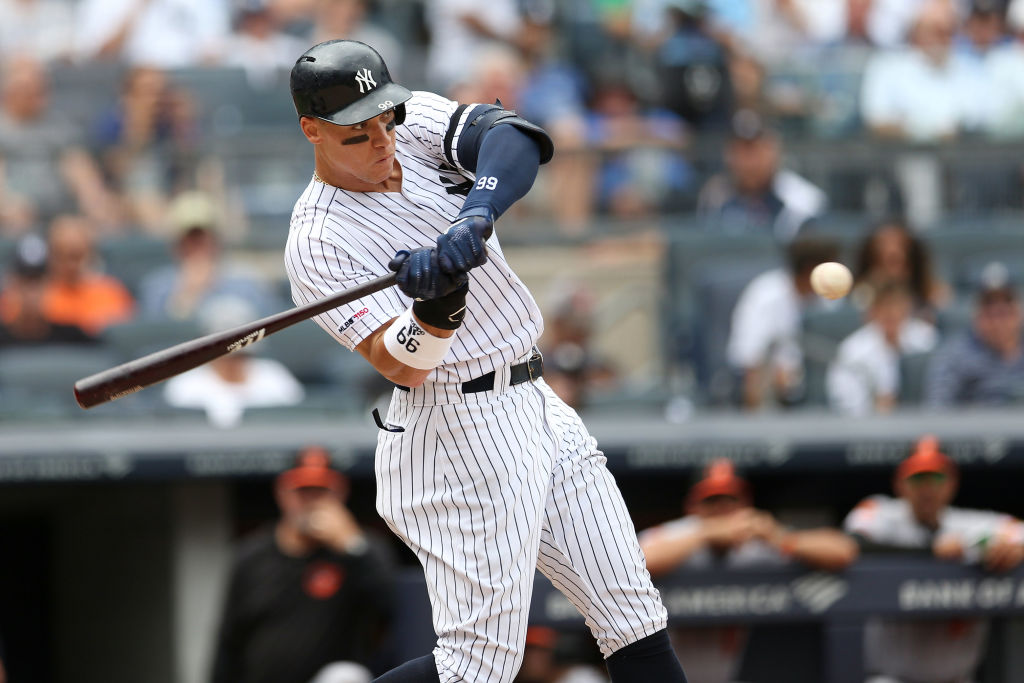 The Yankees Aaron Judge has one of the top-selling MLB jerseys in 2019.