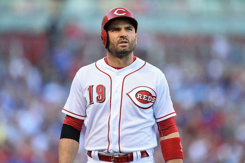 Joey Votto has a keen batting eye that makes him one of the top MLB players who draw the most walks.
