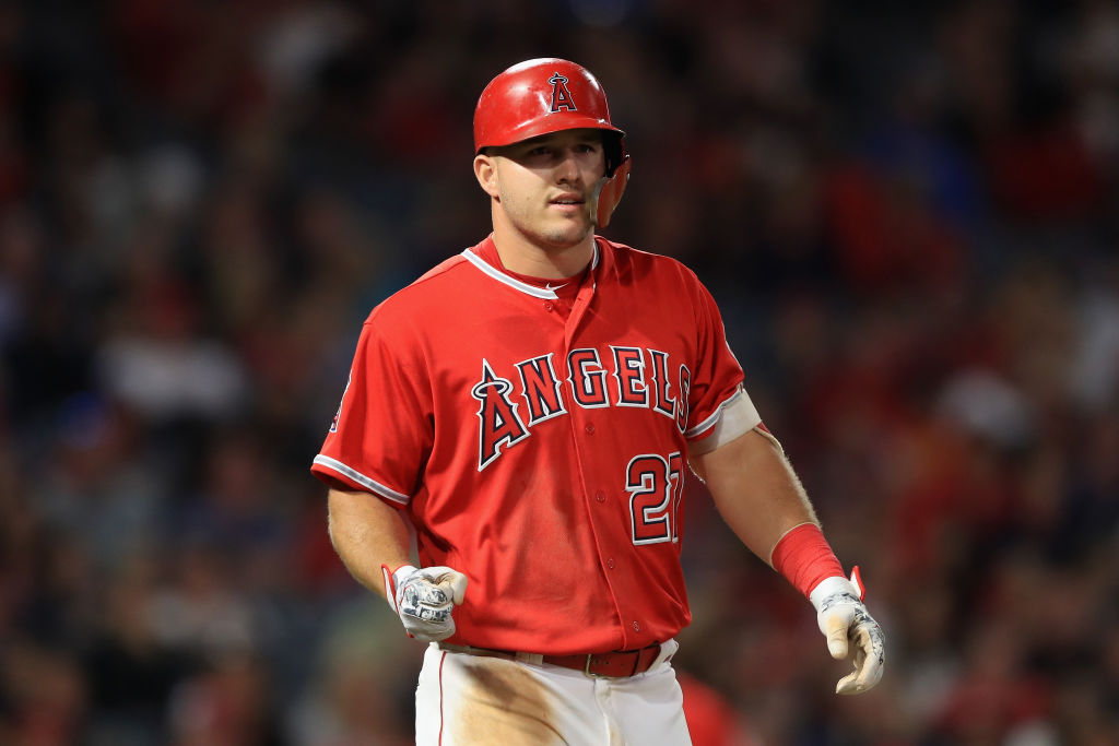 Mike Trout excels at everything, including drawing walks.