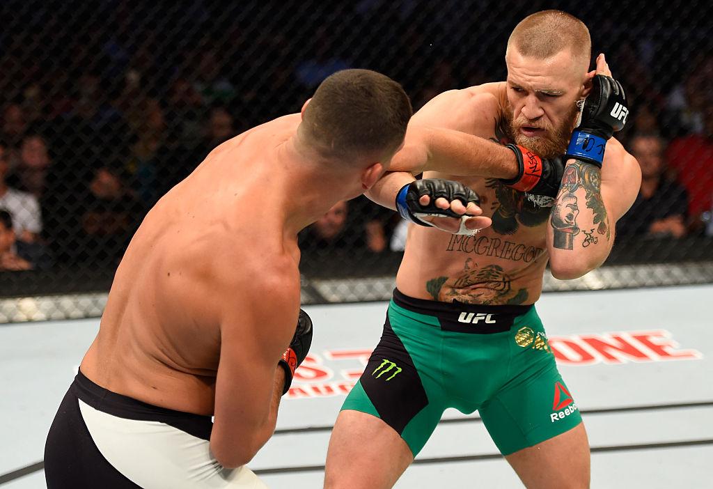 McGregor vs Diaz UFC fight