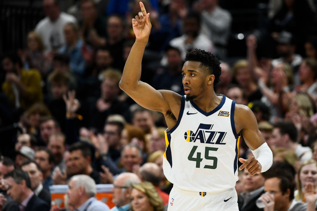 Donovan Mitchell should have more help on offense as the Jazz look to compete for an NBA title in 2020.