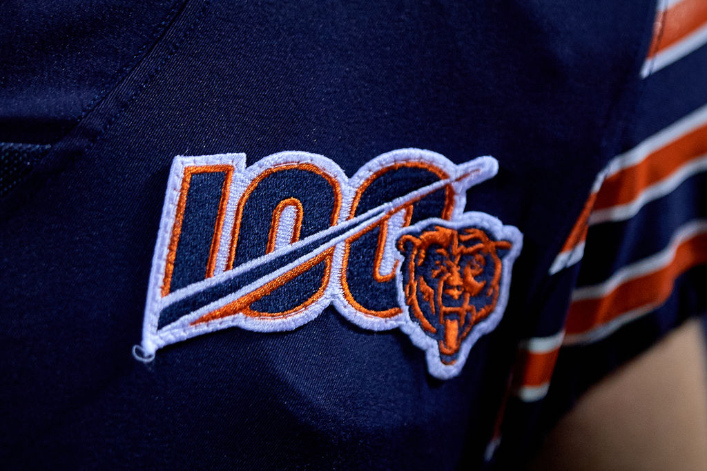NFL 100 - Chicago Bears logo