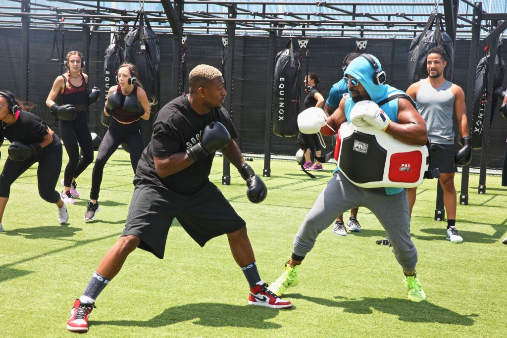 Boxing And Brunch With NFL player Dashon Goldson Powered By Equinox Sports Club