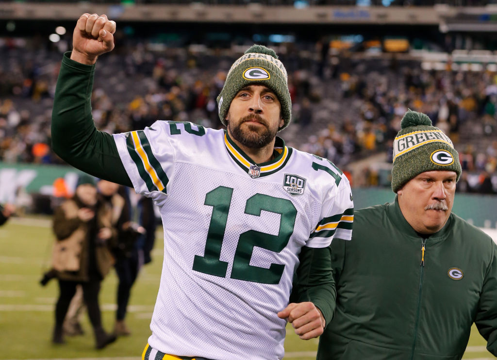 Aaron Rodgers has success on and off the field -- he's one of the NFL players with more than three million Twitter followers.