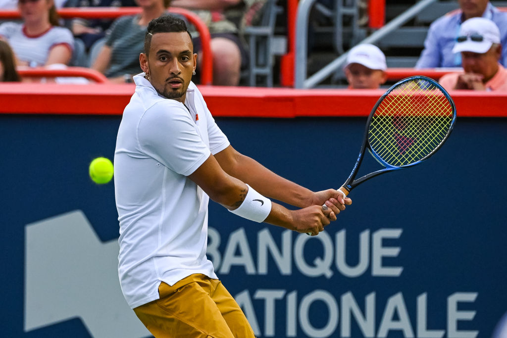 Nick Kyrgios could be one of the brightest tennis stars if he wanted to be.