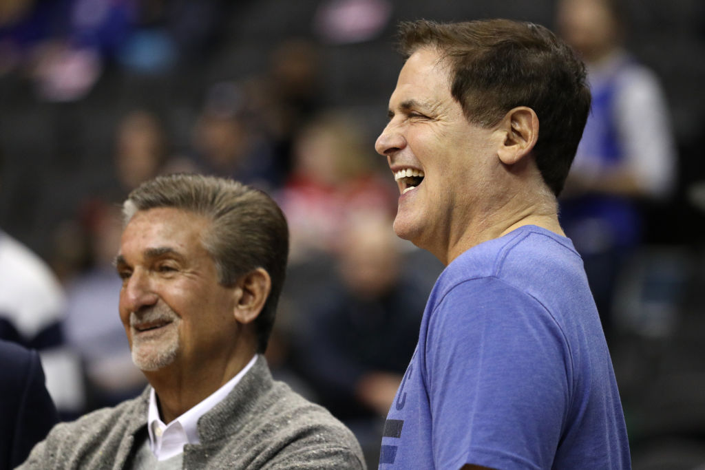 Some of Ten Leonsis' (left) and Mark Cuban's fellow NBA owners want to make changes to free agency.