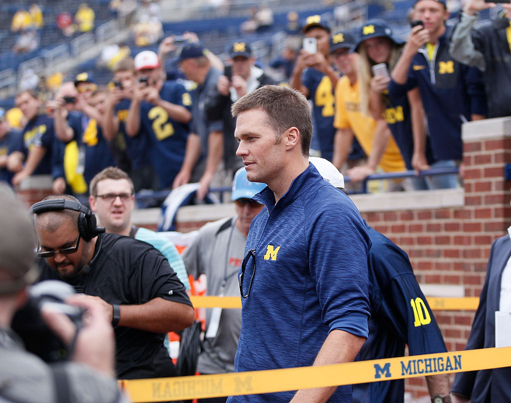 What did Tom Brady study at University of Michigan
