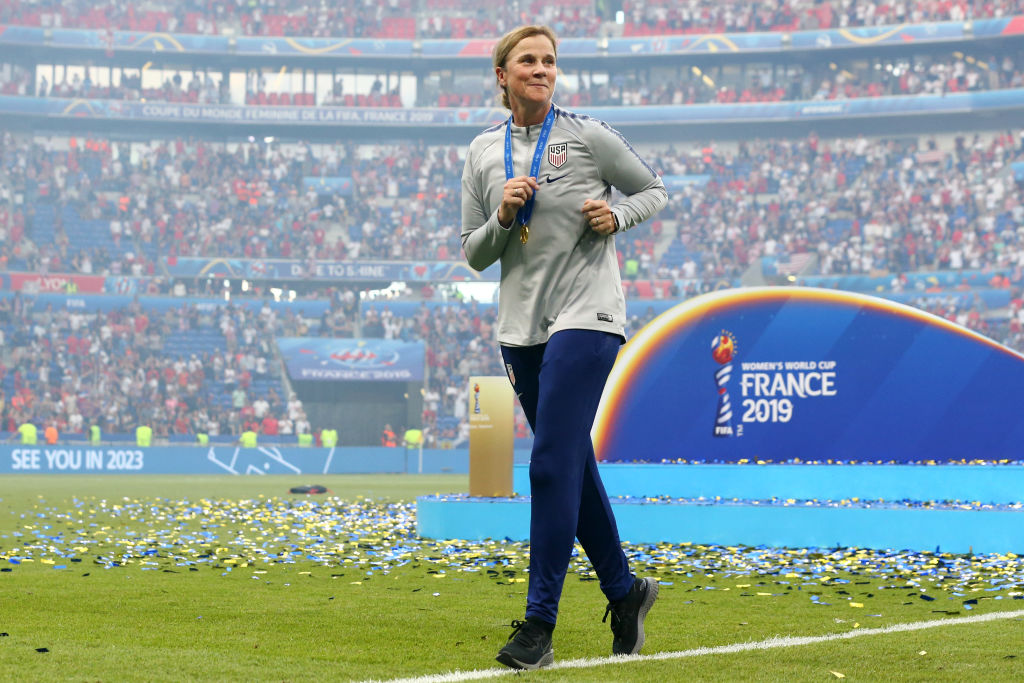 Jill Ellis is done coaching the U.S. Women's Soccer team, but who will replace her?