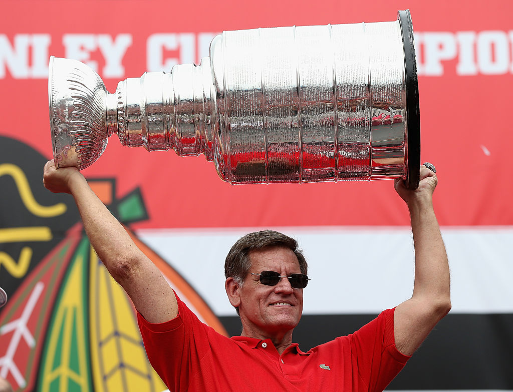 The Chicago Blackhawks' Rocky Wirtz is one of the richest owners in the NHL.
