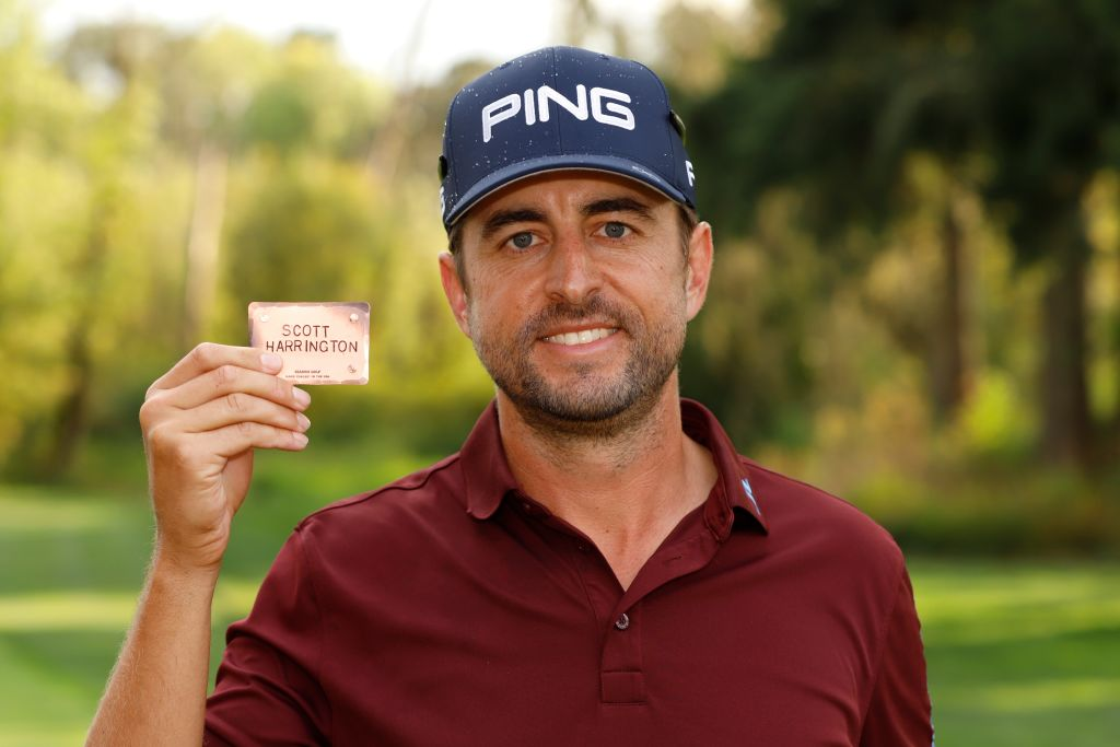 Scott Harrington finally earned his PGA Tour card at 38 years old, and he had good reason for waiting that long.