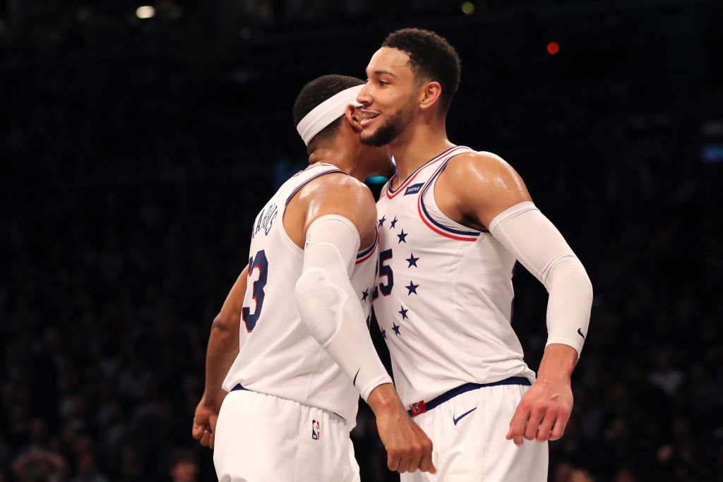 Tobias Harris and Ben Simmons