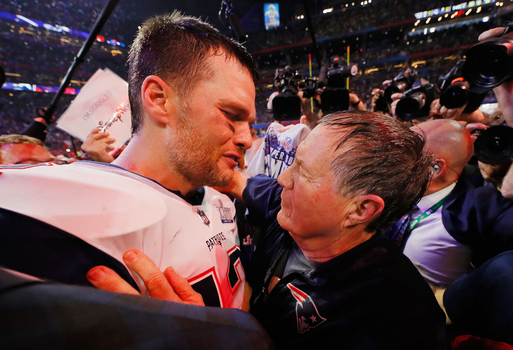 Super Bowl LIII - Tom Brady and Bill Belichick