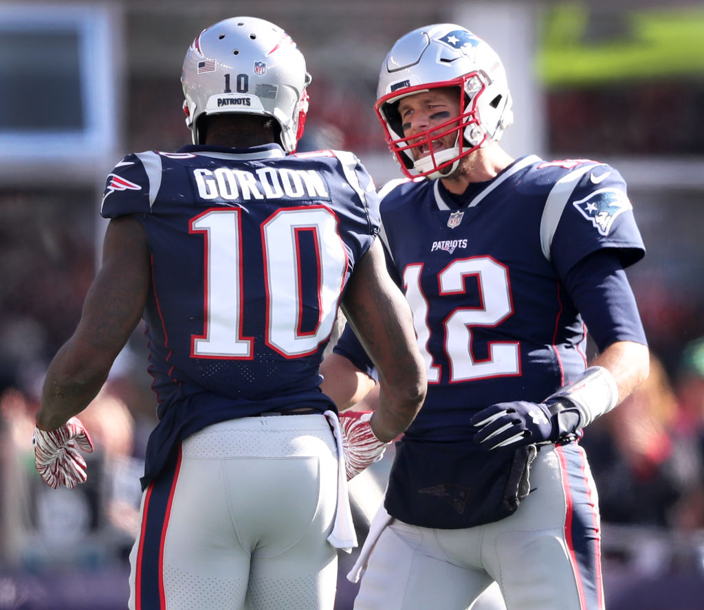 competitive price 04da3 9a0ce Why Was Tom Brady Working out With Josh Gordon?