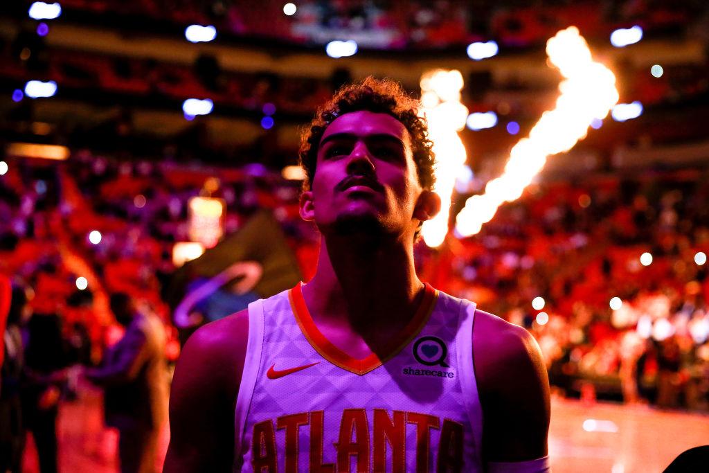 Trae Young Hawks NBA