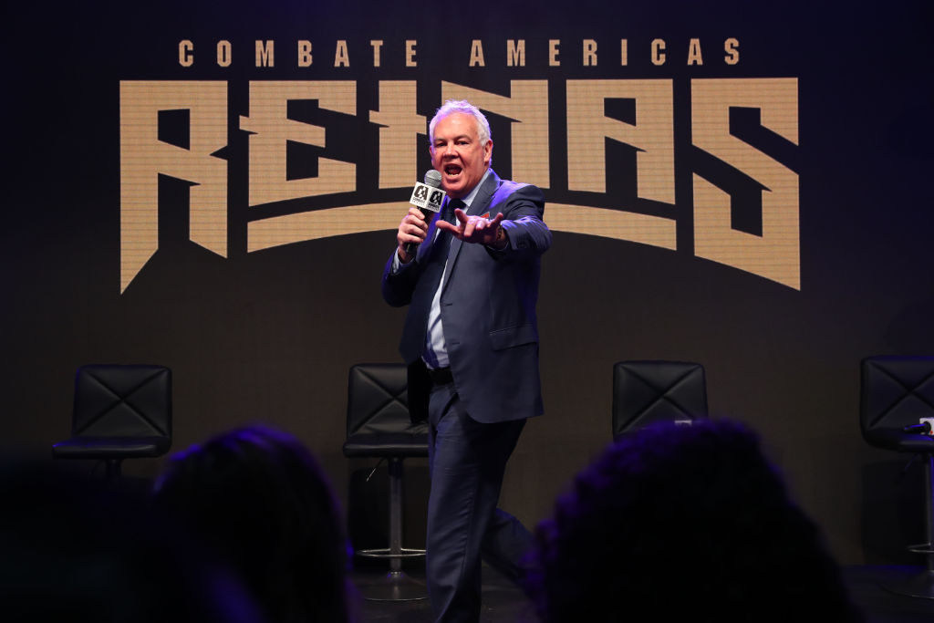 UFC founder Campbell McLaren is back in the MMA game with Combate Americas.