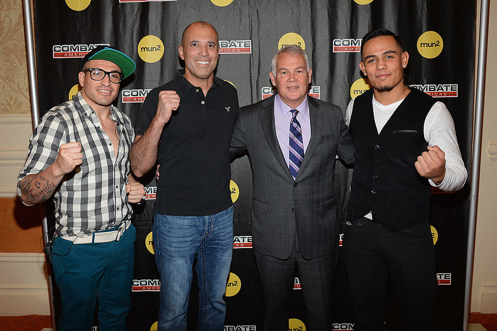 UFC founder Campbell McLaren (second from right) is back in the MMA game with Combate Americas.