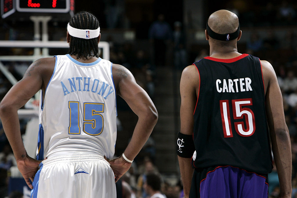 Carmelo Anthony and Vince Carter were once NBA stars, and their careers could end much differently from one another.