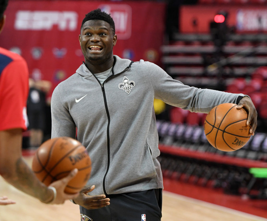 NBA rookie Zion Williamson is a physical marvel, and he's still growing.