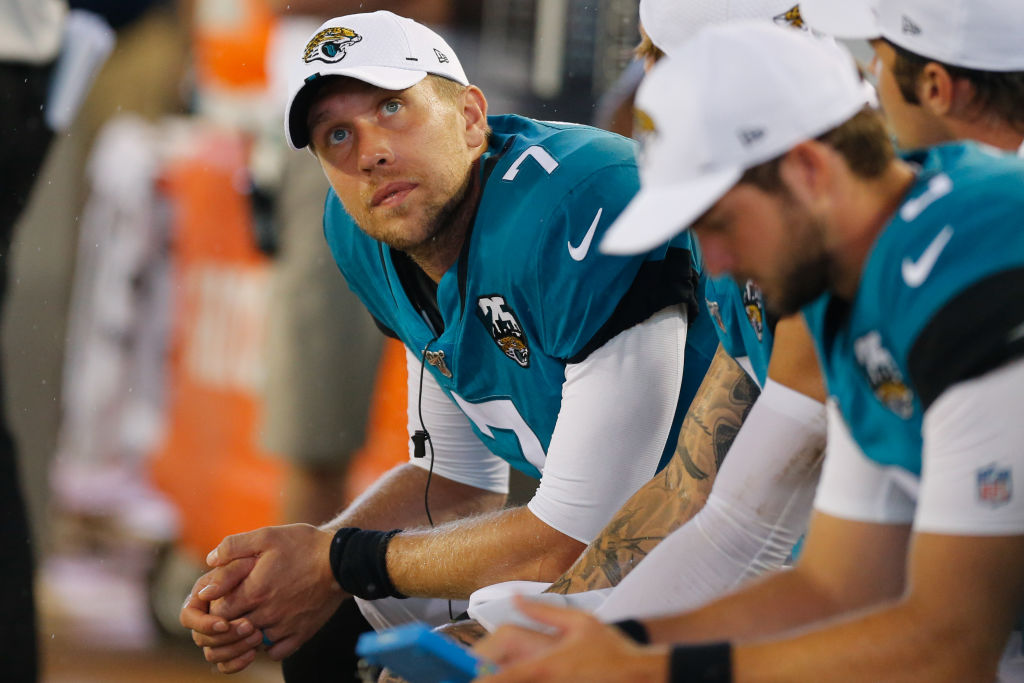 If Nick Foles doesn't stay healthy, then the Jaguars might be in for a long season in 2019.