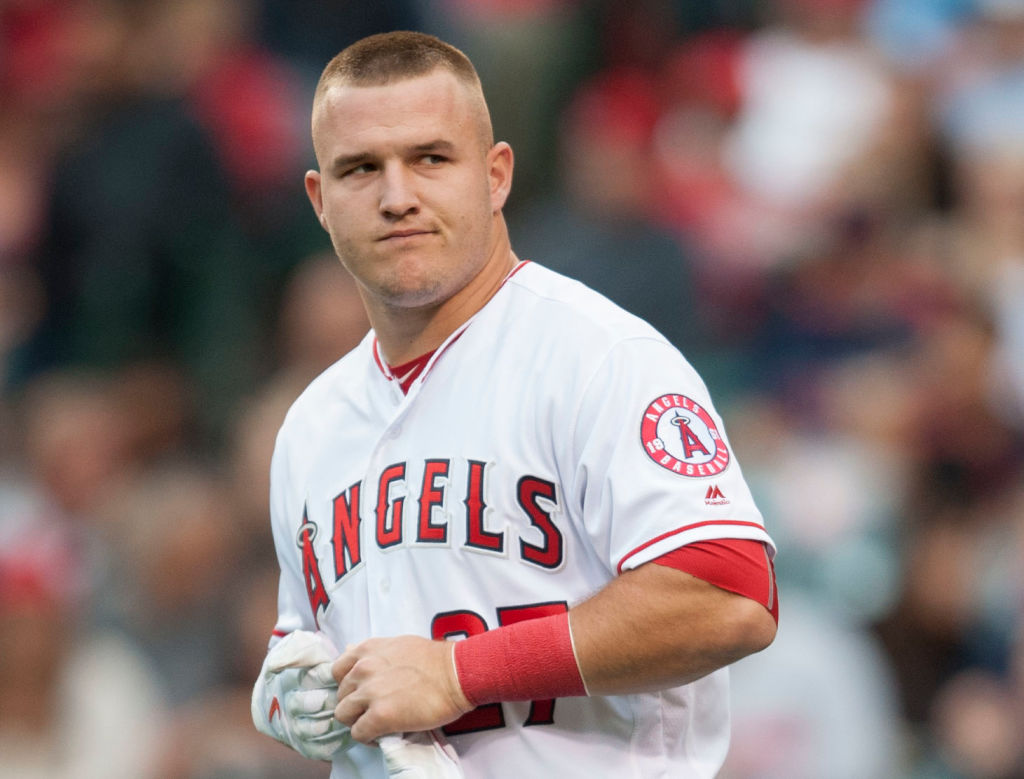 Mike Trout of Angels