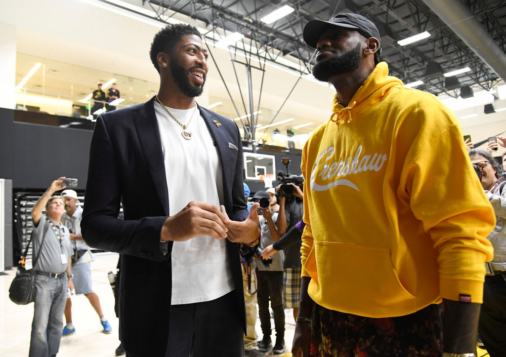 Anthony Davis has been among the best players in the NBA alongside LeBron James