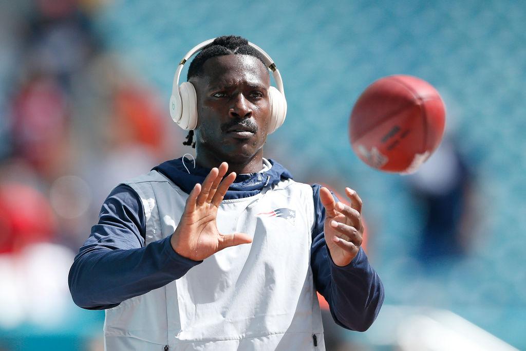 Former Patriots wide receiver Antonio Brown