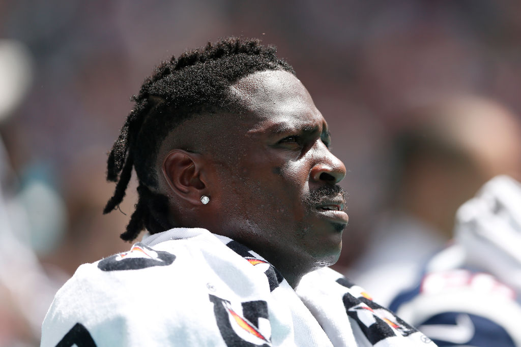 Antonio Brown never seems to learn any lessons